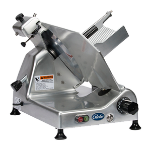 "Globe G14 - 14"" Manual Gravity Feed Slicer - 1/2 hp"