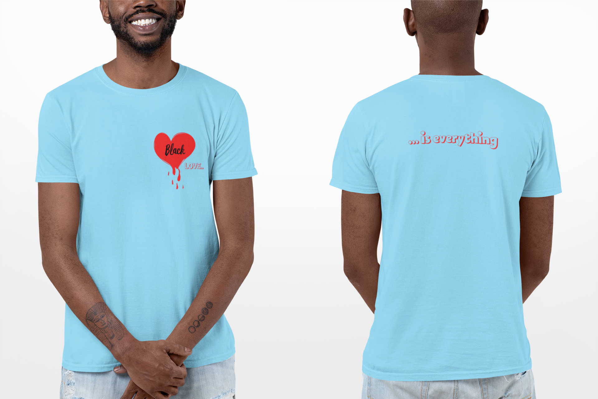"""BLACK LOVE"" UNISEX TEE'S - 29Collections"