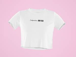 """INDEPENDENCE"" CROP TOP - 29Collections"