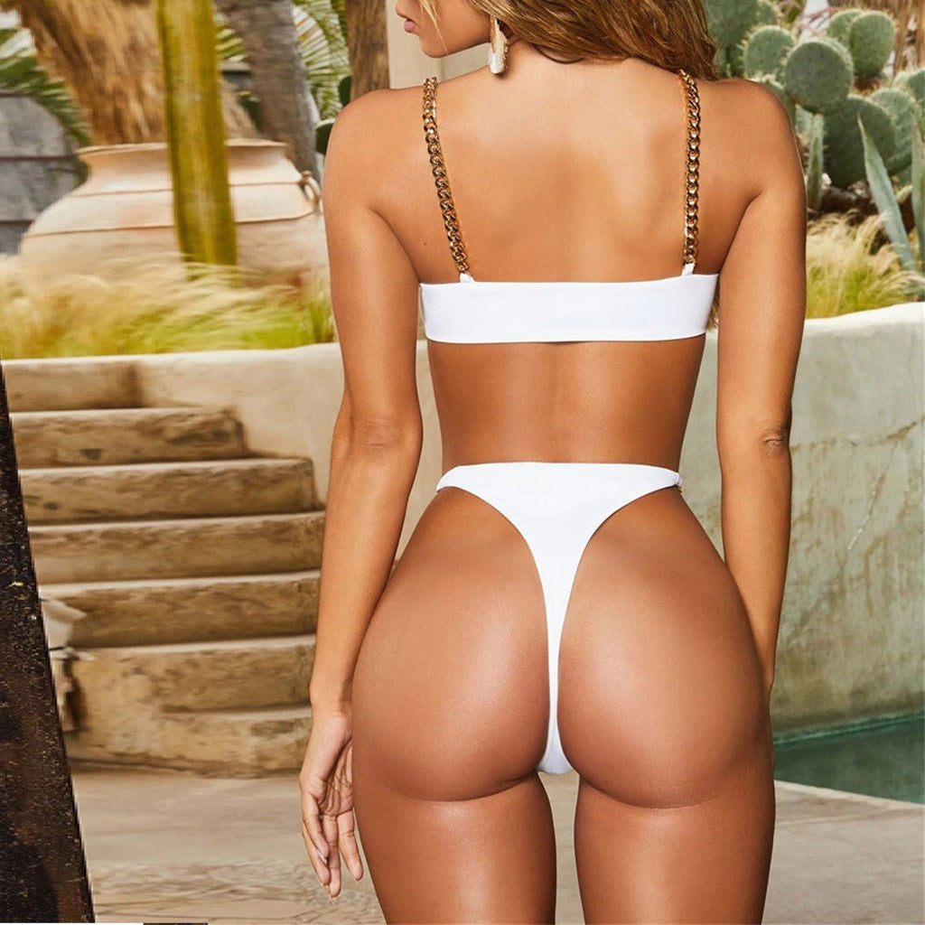 2 Piece Chain Swimsuit - 29Collections