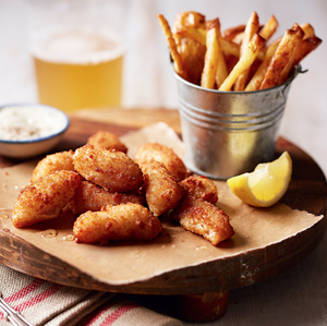Scottish Wholetail Breaded Scampi - Frozen