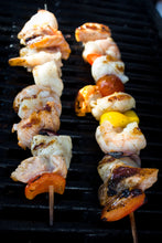 Load image into Gallery viewer, 2 x Luxury Fish Kebabs