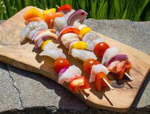 2 x Luxury Fish Kebabs
