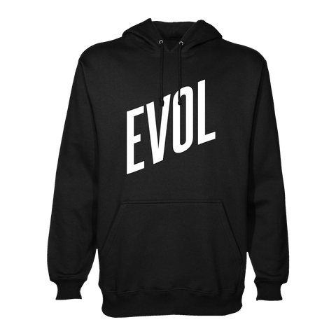 Love Is Evol Hoodie (Black)