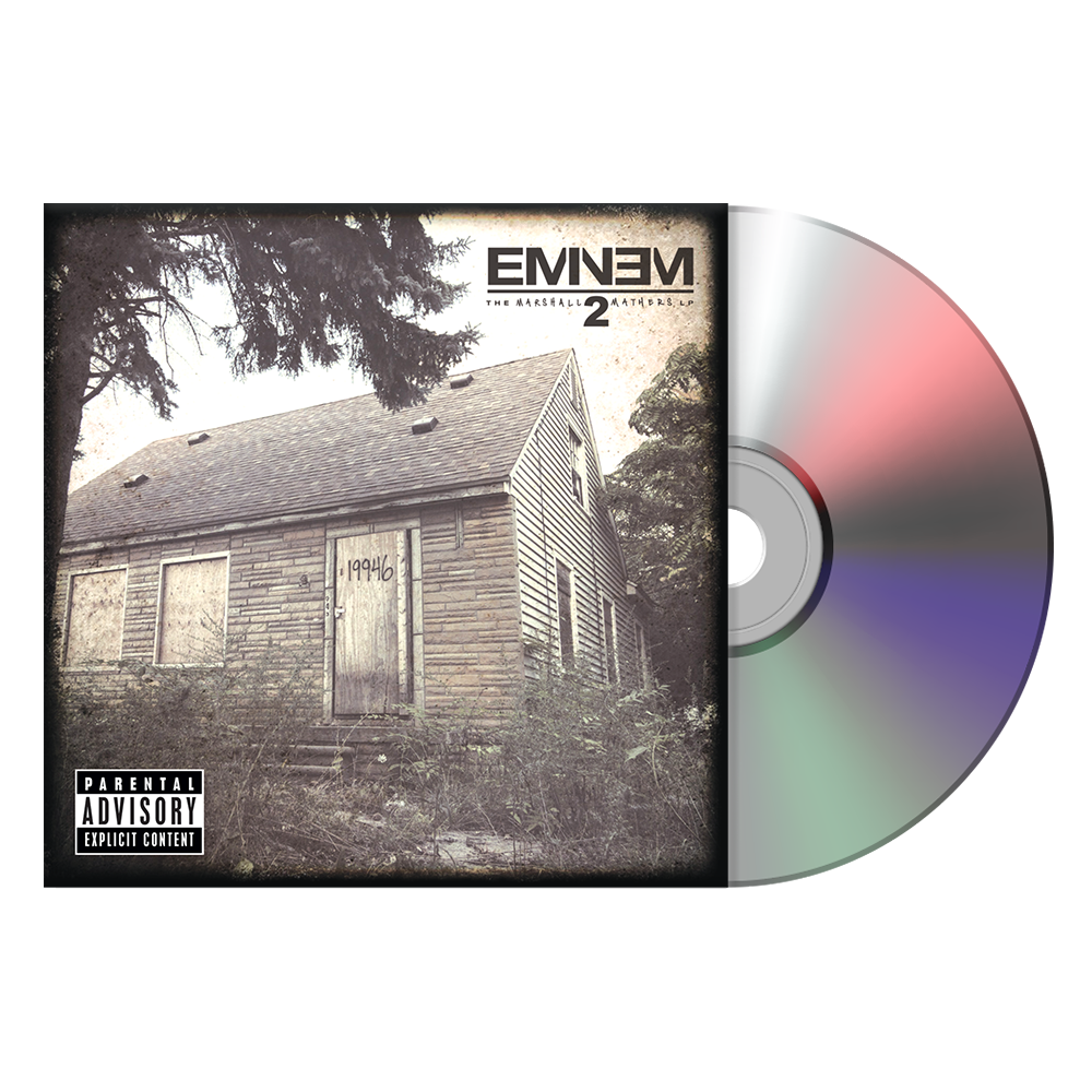 The Marshall Mathers LP2 CD