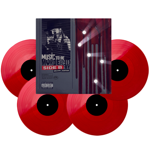 Limited Edition MTBMB - Side B (Deluxe Edition) Red Vinyl
