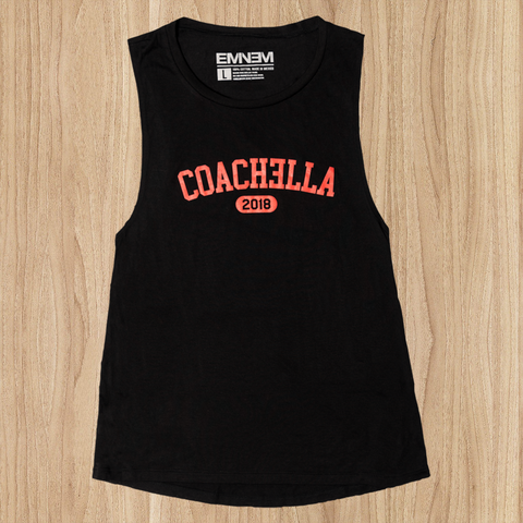LIMITED EDITION EMINEM COACHƎLLA 2018 WOMEN'S TANK TOP