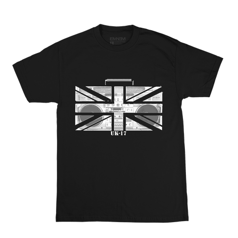 LIMITED EDITION EMINEM UK 2017 T-SHIRT