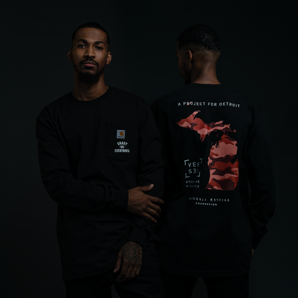 Marshall Mathers Foundation X Detroit Vs Everybody - Longsleeve