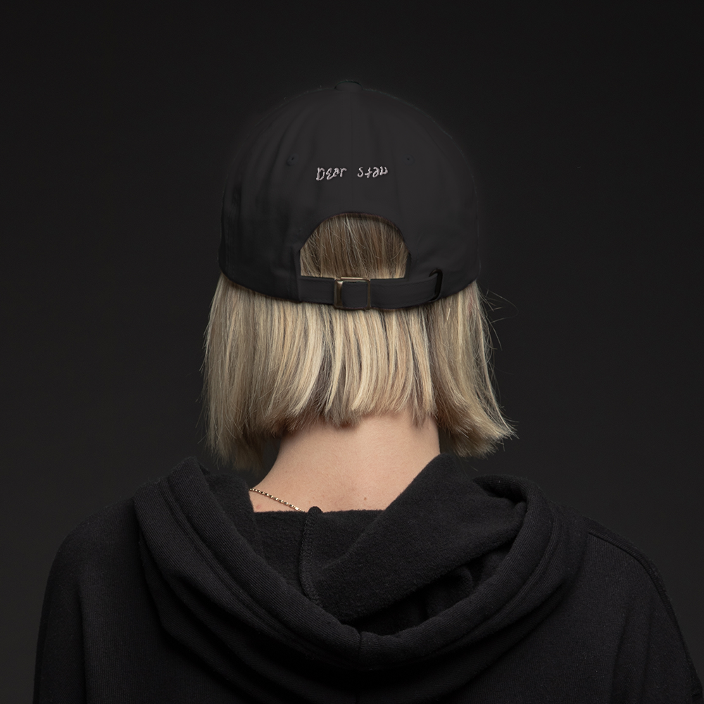 DEAR SLIM DAD HAT (BLACK)