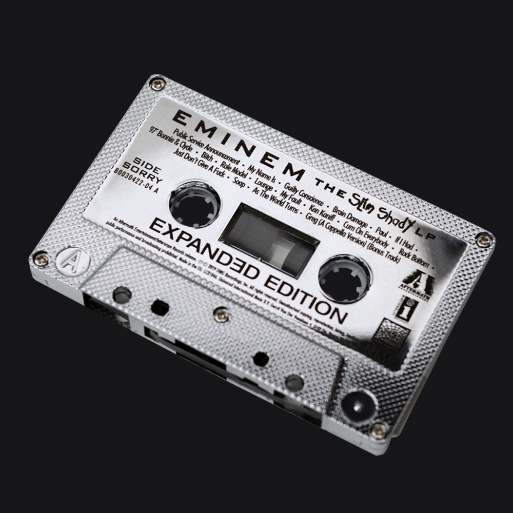 SSLP20 Expanded Edition Collector's Chrome Cassette