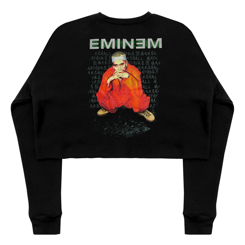 ORANGE JUMPSUIT CROPPED CREWNECK