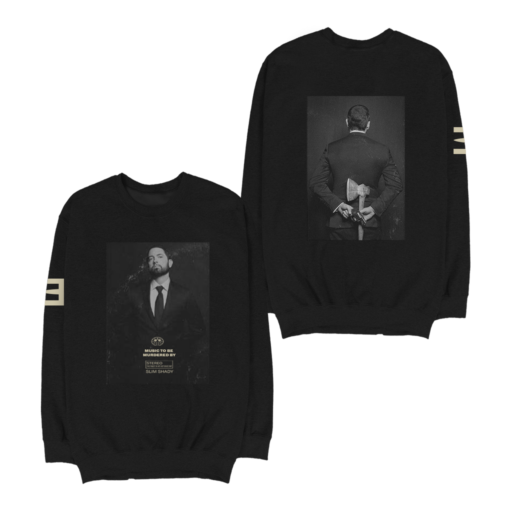 MTBMB Photo Crewneck (Black) + Digital Album