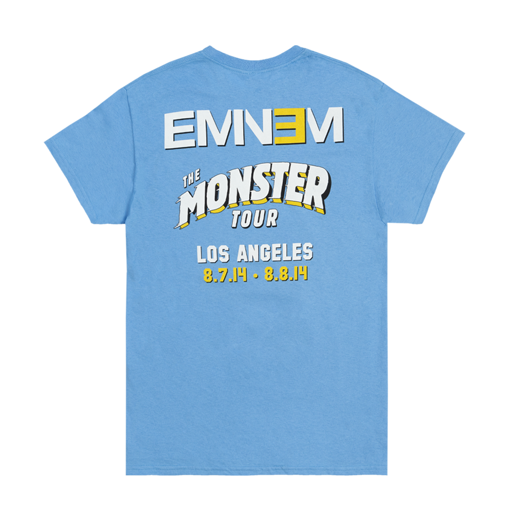 EMINEM UCLA FOOTBALL T-SHIRT