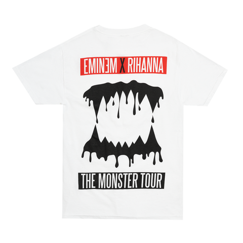 MONSTER TEETH GRIN T-SHIRT (WHITE)