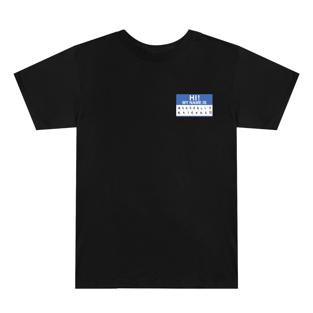 HI! MY NAME IS... BLUE NAME TAG T-SHIRT (REISSUE)