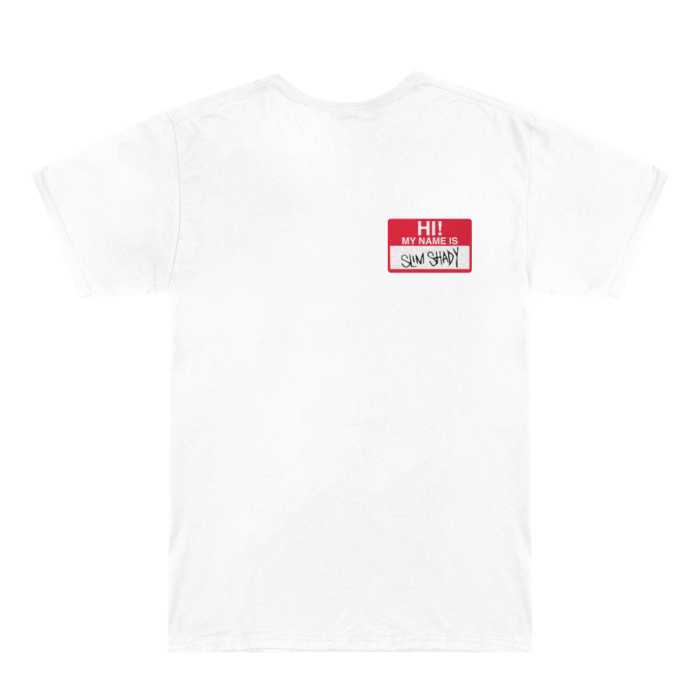 HI, MY NAME IS... T-SHIRT (WHITE)