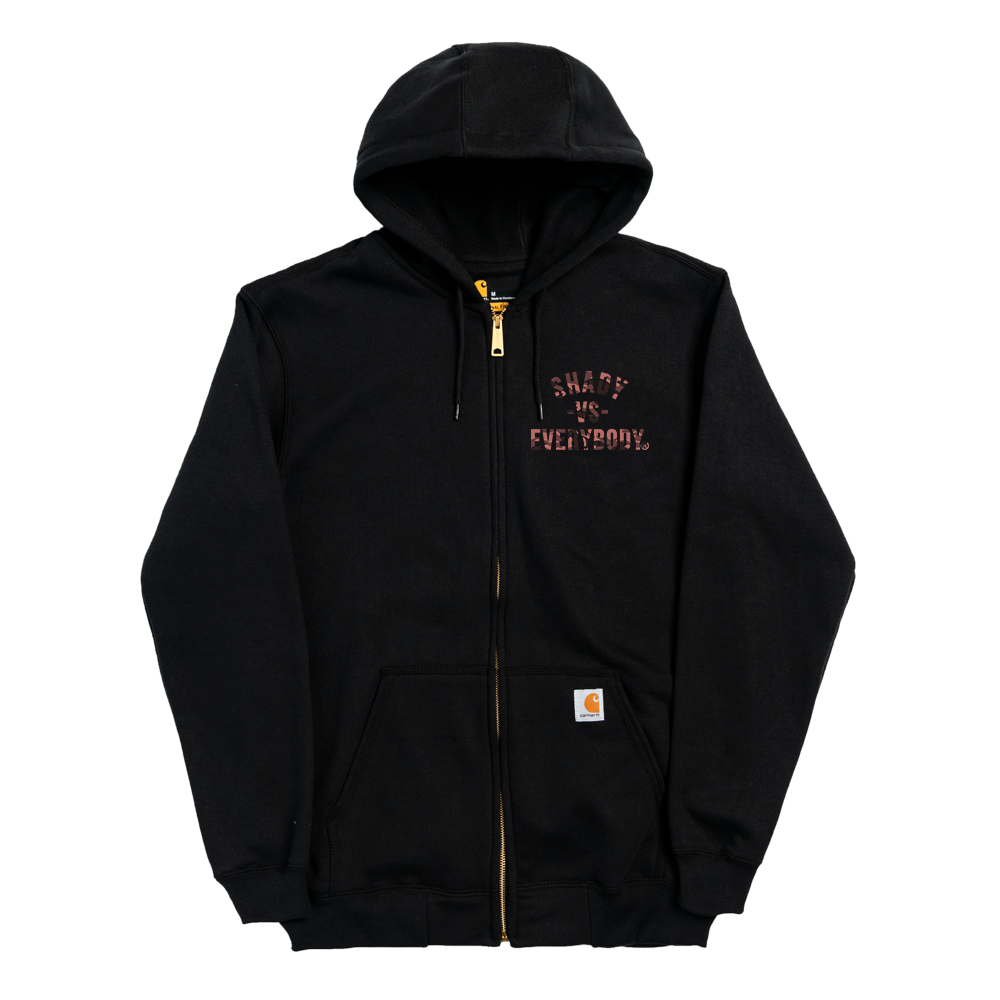 Marshall Mathers Foundation X Detroit Vs Everybody - Zip Up Hoodie