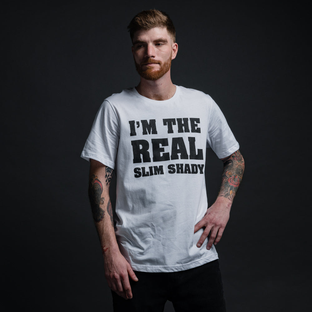 I'M THE REAL SLIM SHADY T-SHIRT (WHITE)