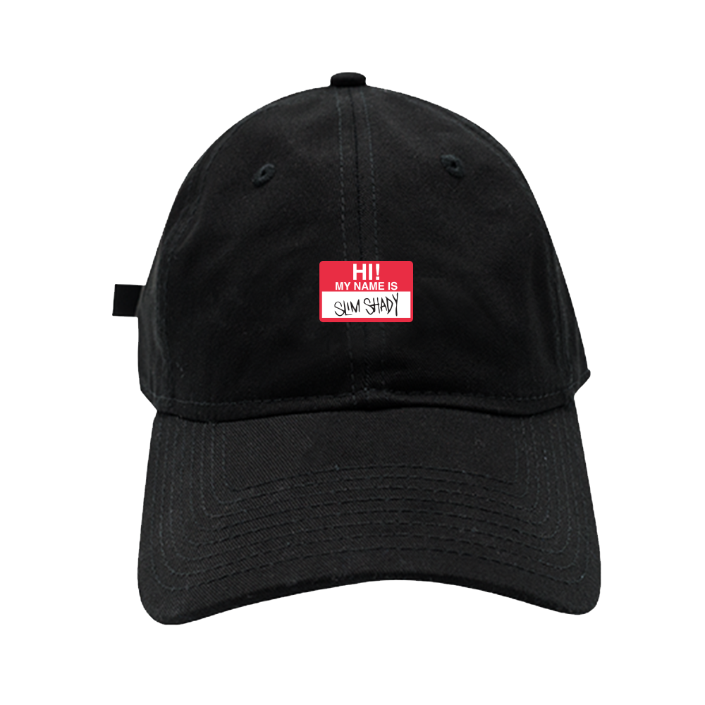 NAME TAG PATCH DAD HAT