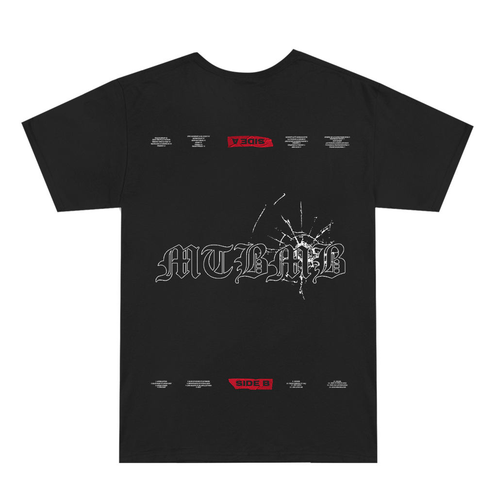 MTBMB Bullet Hole T-Shirt (Black)