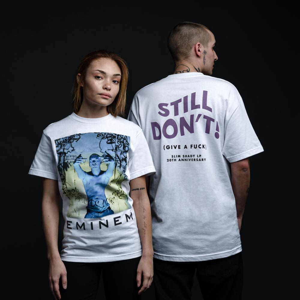 8a4e4c2ae6ca STILL DON'T T-SHIRT (WHITE) – Official Eminem Online Store
