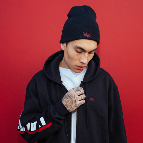 OFFICIAL REVIVAL FLAG LOGO BEANIE