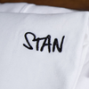 LIMITED EDITION EMBROIDERED STAN T-SHIRT (WHITE)