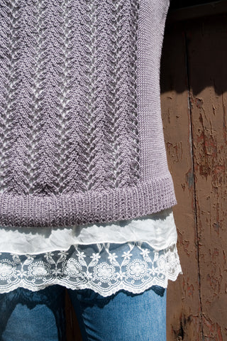 Lace Pullover knitting pattern