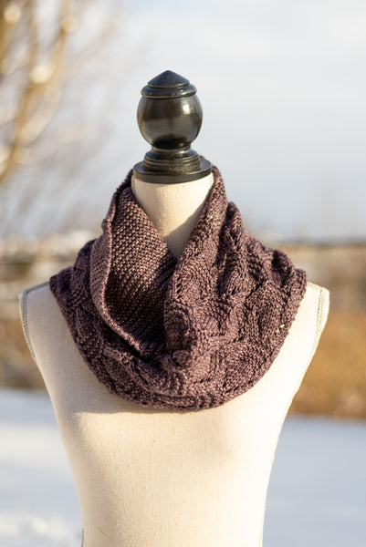Antiqued Cowl Pattern