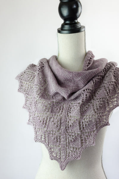 lace cowl knitting