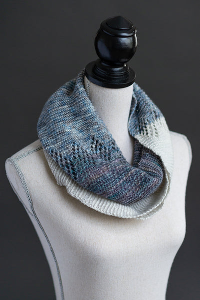 Diamond Exchange Scarf Pattern