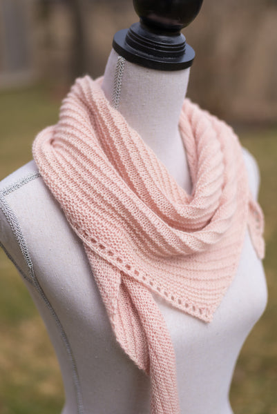 Sideways Triangle Scarf