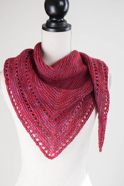 triangle shawl patterns