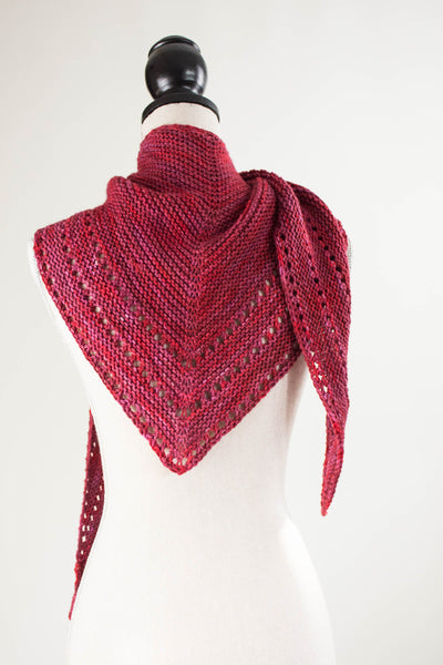 Easy  knitted shawl pattern