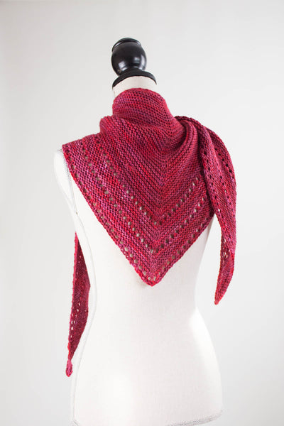 Easy Triangle Shawl