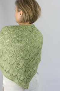 Triangle shawl wrap