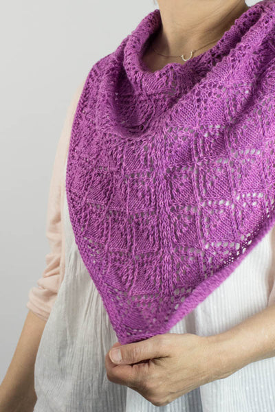 Purple Haze Cowl Pattern