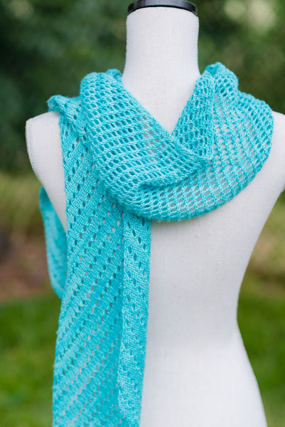 lace scarf knitting
