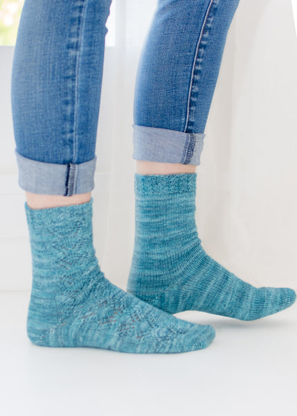 Solace Socks Pattern