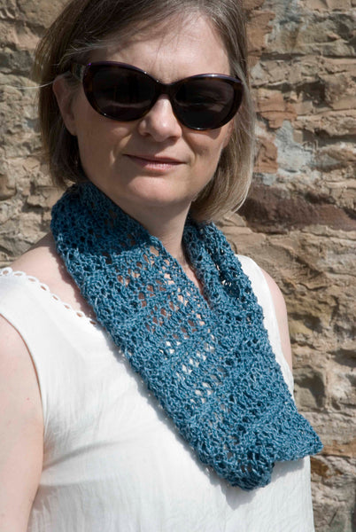 Lace Cowl knitting pattern