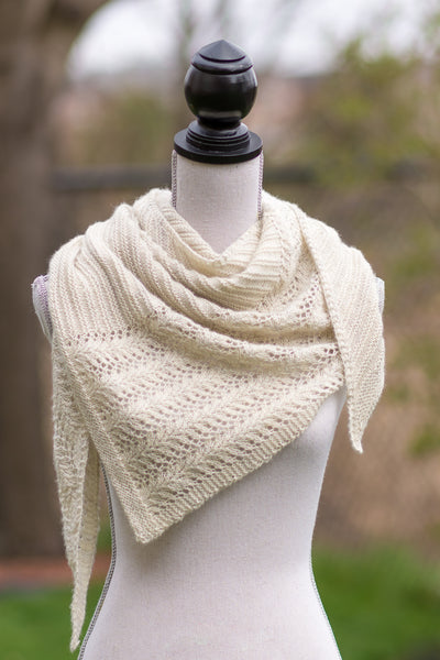 Hand Knit Shawl Pattern