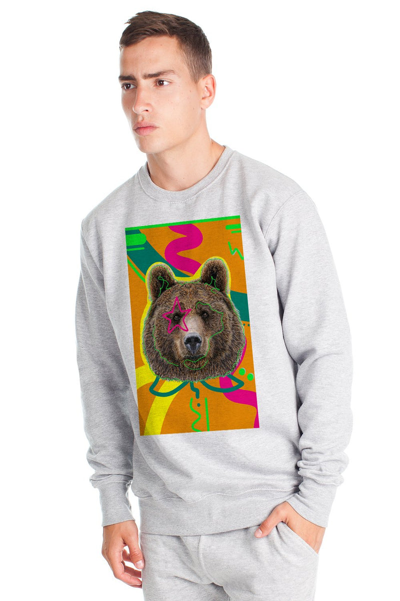 Original Fleece Bear Sweatshirt - Grey Mix