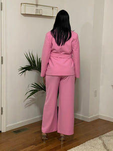 Pretty In Pink Pant Suit