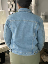 Load image into Gallery viewer, Pull My String Denim Jacket