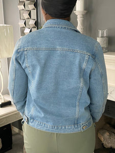 Pull My String Denim Jacket