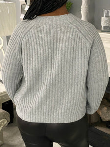 Gray Chill Sweater