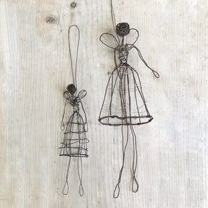 Small Woven Wire Angel