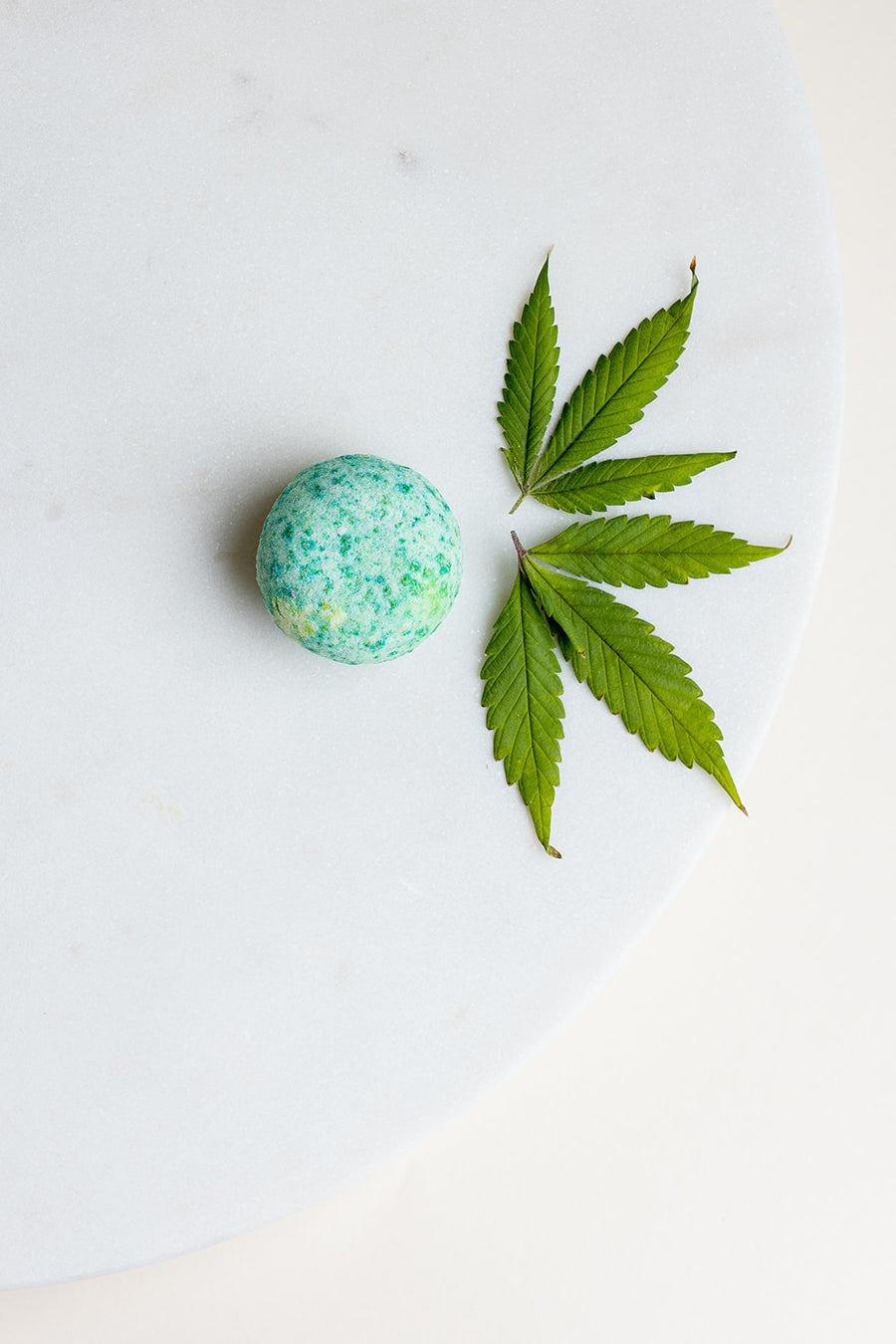 These pleasant smelling Bitty Bitty bath bombs are perfect for a relaxing foot bath after a long day.  Try a couple in a large tub for a relaxing bath.  15 mg CBD each mini bomb