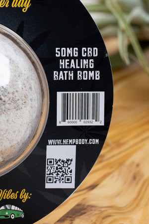 Fill your tub with the perfect temperature bath water, Drop in the luxurious hempbody CBD bath bomb and let the magic happen!